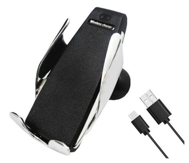 (NOVO)Suporte smart sensor car wireless charger S5