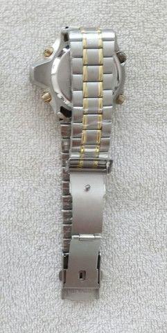 Relógio modelo Aqualand marca Atlantis com pulseira de aço inoxidável - Foto 3