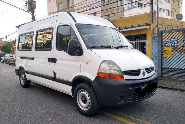 Renault master ano 2011 16 lugares impecavel - Compra - Vende - Troca