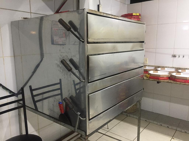 Forno para pizzaria superpotente - Foto 5