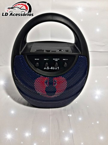 Caixa de som Bluetooth multimídia speaker