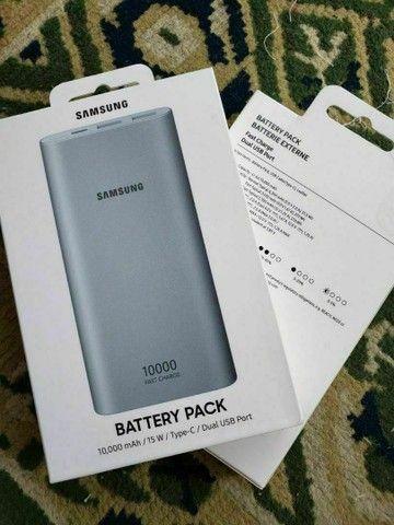 Carregador Portátil Power Bank Samsung Original Lacrado - Foto 2