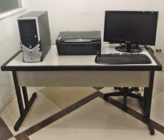 Mesa para escritório + computador completo.  - Foto 5