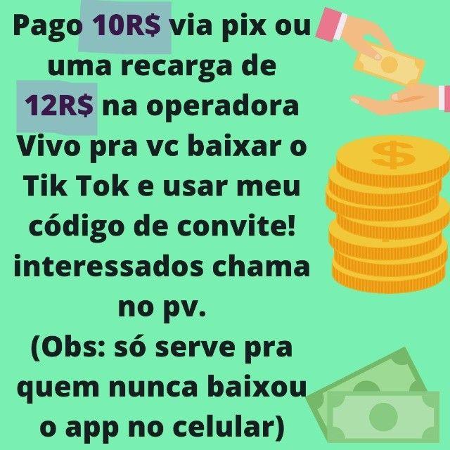 Pago 10 reais via pix - Foto 2
