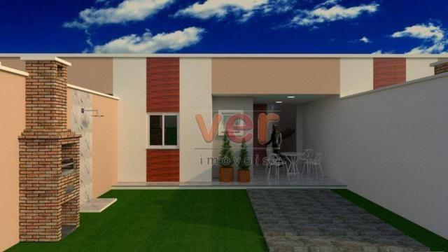 Casa à venda, 85 m² por R$ 160.000,00 - Centro - Itaitinga/CE - Foto 2