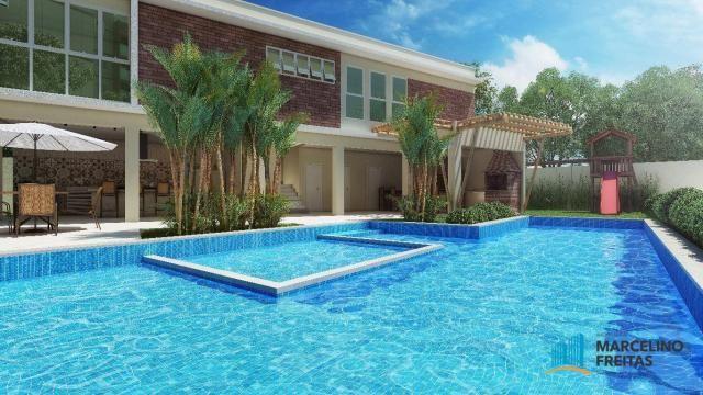 Apartamento c/3 quartos à venda, 77 m² por R$ 359.504 - Eusébio - Eusébio/CE - Foto 3