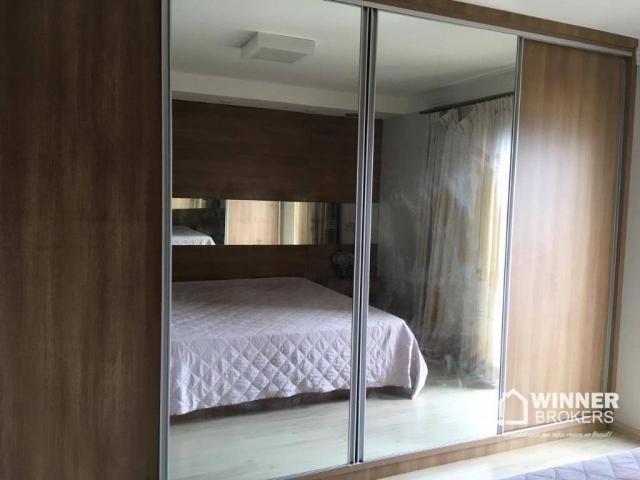 Lindo apartamento mobiliado à venda no novo centro de Cianorte! - Foto 12