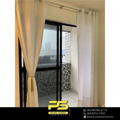 Apartamento com 2 dormitórios à venda, 60 m² por R$ 180.000 - Jardim Cidade Universitária  - Foto 3