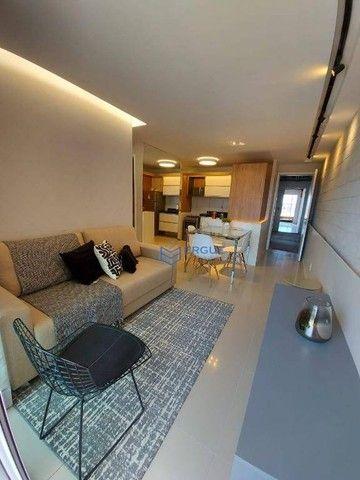 Apartamento com 2 dormitórios à venda, 56 m² por R$ 428.000,00 - Benfica - Fortaleza/CE - Foto 7