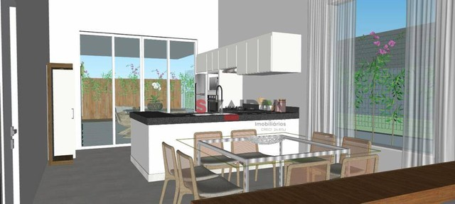 Casa com 3 dormitórios à venda, 180 m² por R$ 1.055.000,00 - Residencial Villa D?Aquila -  - Foto 7