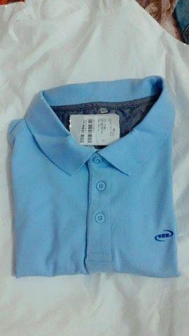 Camisa original da Mahalo azul celeste. NOVA