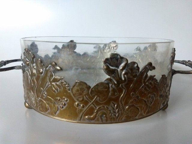 Centro de mesa em Metal e Cristal - Foto 2