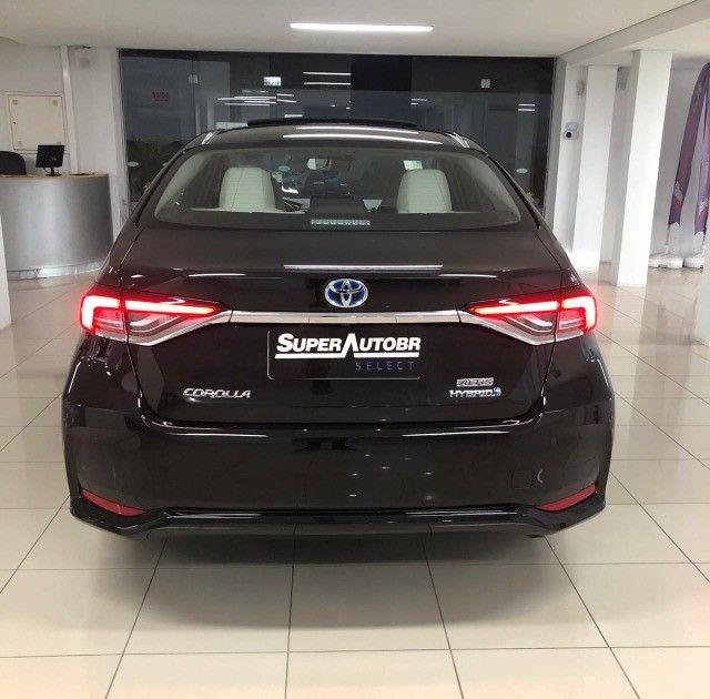 Imperdível!!! Toyota Corolla Altis Premium Hybrid 1.8AT 2021 com apenas 6 mil km! - Foto 7