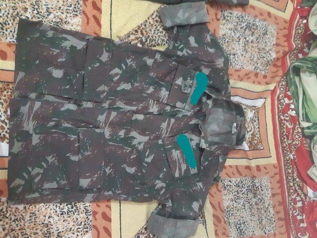 Uniforme do exército