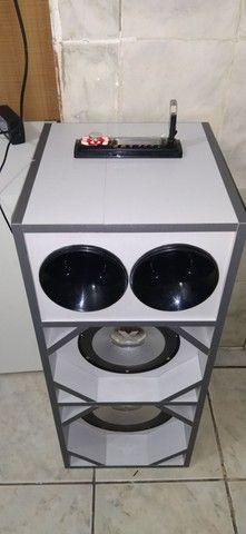 Caixa de som potente batidão. - Foto 4