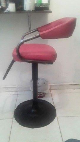 Máquina Wahl Detailer e Cadeiras de Barbearia  - Foto 2
