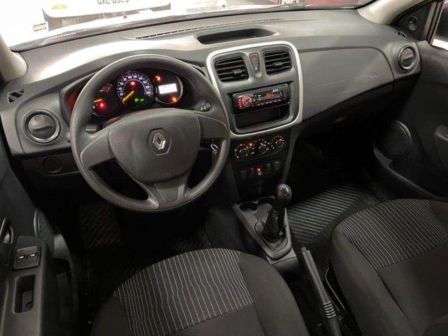 Renault Logan Authentique 1.0 12V  (Flex) - 2019 - Foto 19