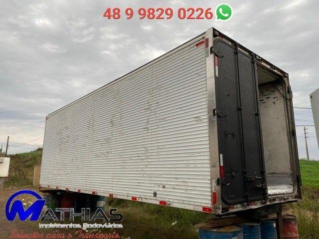 Baú frigorífico 14 paletes Comprimento 7,60m repasse