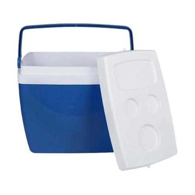 Caixa Térmica 18 Litros Azul
