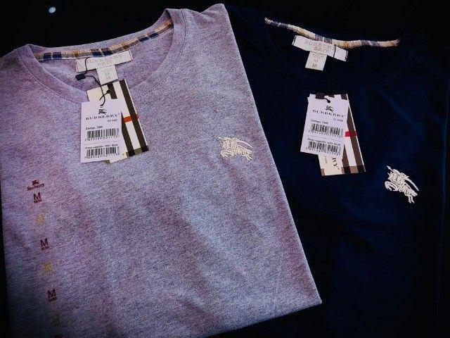 camisetas burberry atacado minimo 10 pcs envios imediatos  - Foto 6