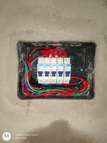 Eletricista- Portão eletrônico- alarmes- câmeras- concertina - Foto 3