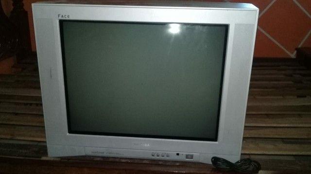 Tv, suporte e receptor - Foto 3