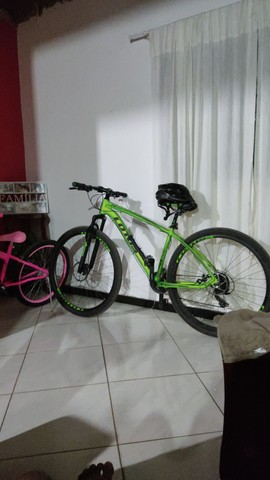 Bike lótus aro 29 zerada e com capacete - Foto 2
