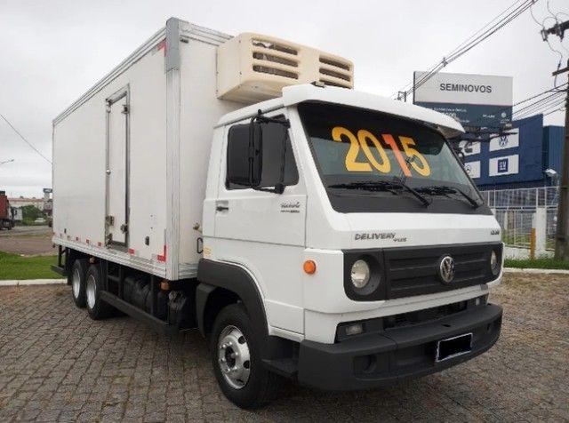 Vw 10.160 Delivery Plus Ano 2014/15 Truck / Baú Frigorífico