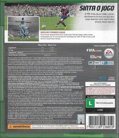 olx189 Jogo Fifa 15 Xbox One Original blurai - Foto 2