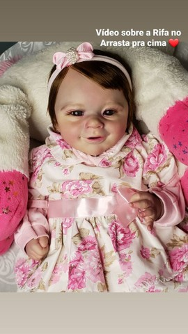 Bebê reborn kit Sunny com enxovalzinho  - Foto 4