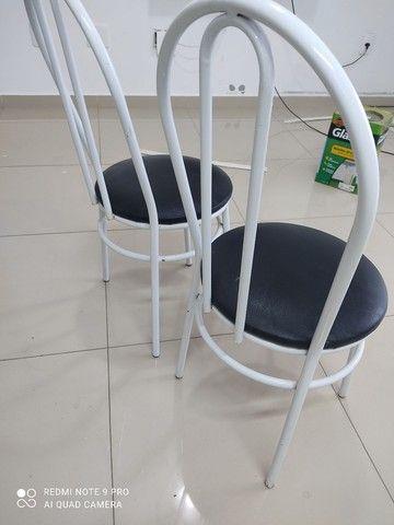 2 cadeiras tubolar