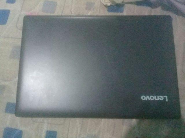 Notebook Lenovo ainda na  caixa