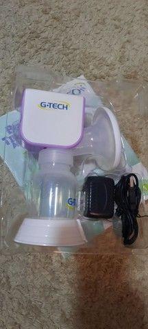 Bombinha De Tirar Leite Materno G-tech Automática Smart Bivolt - Foto 2