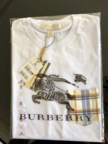 camisetas burberry atacado basicas masculinas
