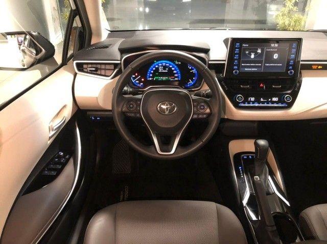 Imperdível!!! Toyota Corolla Altis Premium Hybrid 1.8AT 2021 com apenas 6 mil km! - Foto 16