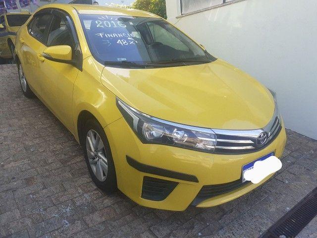 Corolla GLI  2016 automático ex taxi  !!  Excelente para aplicativos.  - Foto 2