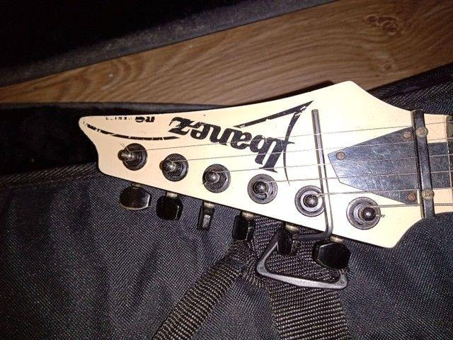 Guitarra Ibanez rg350 Korea 1999 troco por videogame  - Foto 2