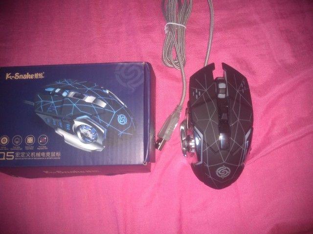 Mouse gamer novo $80