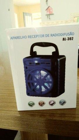 Caixa De Som Grasep Al-302 Portátil Com Bluetooth - Foto 5