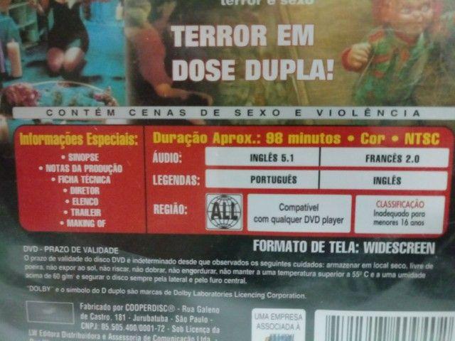 DVD  Noiva do Chucky - Faço Envio. - Foto 2