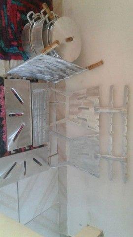 Vendemos churrasqueiras de aluminio desmontavél. - Foto 3