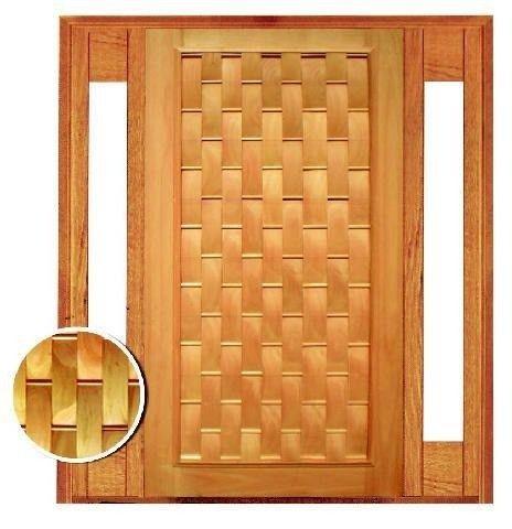 Porta de Madeira Com visor lateral  - Foto 4