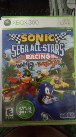 Sonic sega all-stars racing XBOX 360