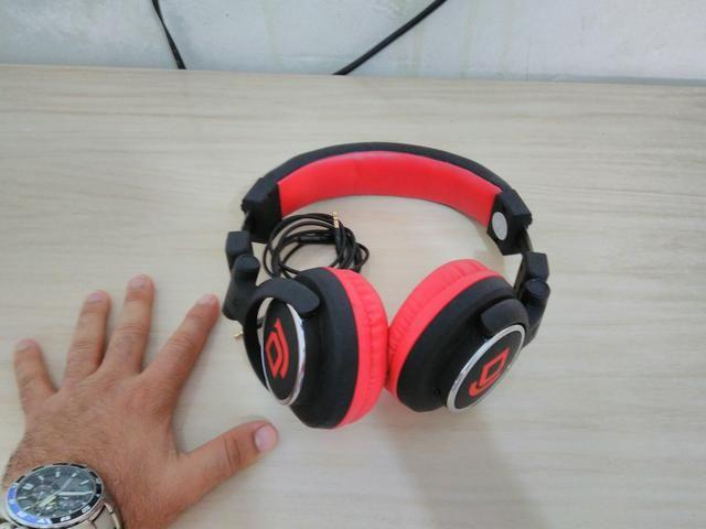Head phone multilaser dj - semi novo