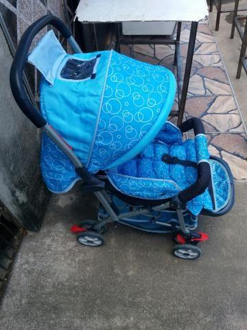 Carrinho de Bebê Novinho Pronto pra Usar