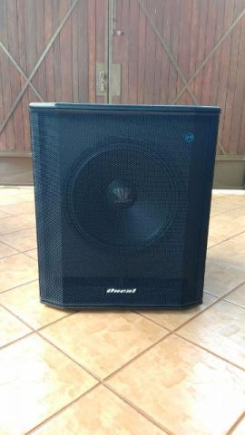 Caixa subgrave Oneal mod. Opsb 2800 ativa 1000rms