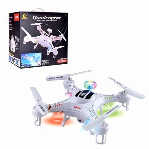 Drone quadcopter, com controle, camera etc