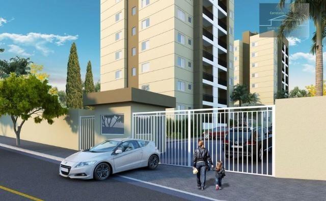 Lançamento de condomínio de apartamentos em Cosmópolis-SP (AP0014)