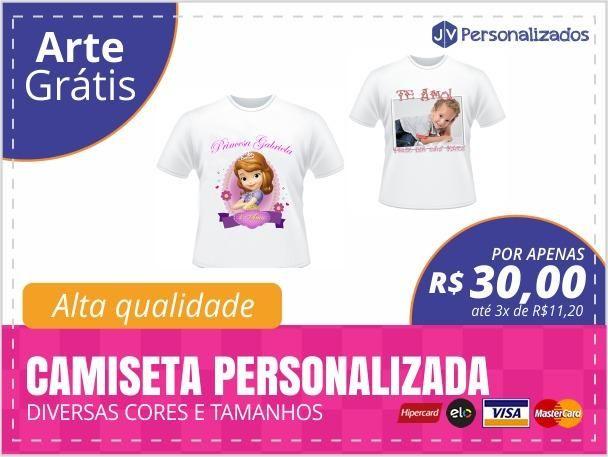 Camisetas Personalizadas - Foto Produtos - Canoas - Serviços - São ... 22a6e931c43a5