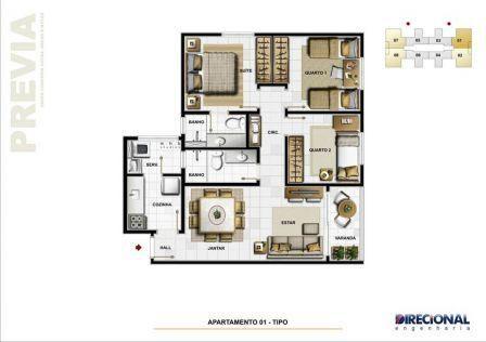 Apartamento 02 quartos com 01 vaga coberta - Foto 9
